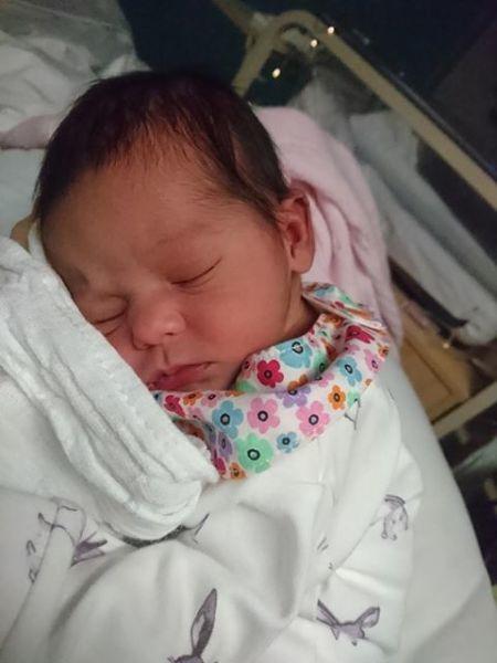 The birth of baby Maya Grace