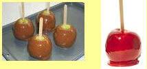 Candy Apples & Caramel Apples