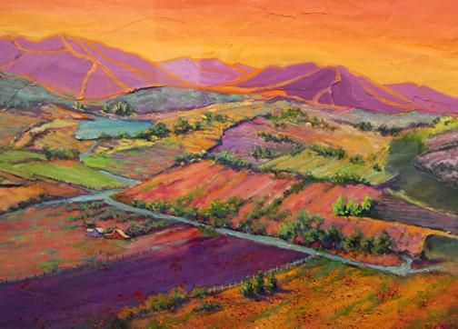 Acrylics, Oils, Watercolors