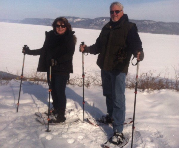 Frozen Lake Pepin