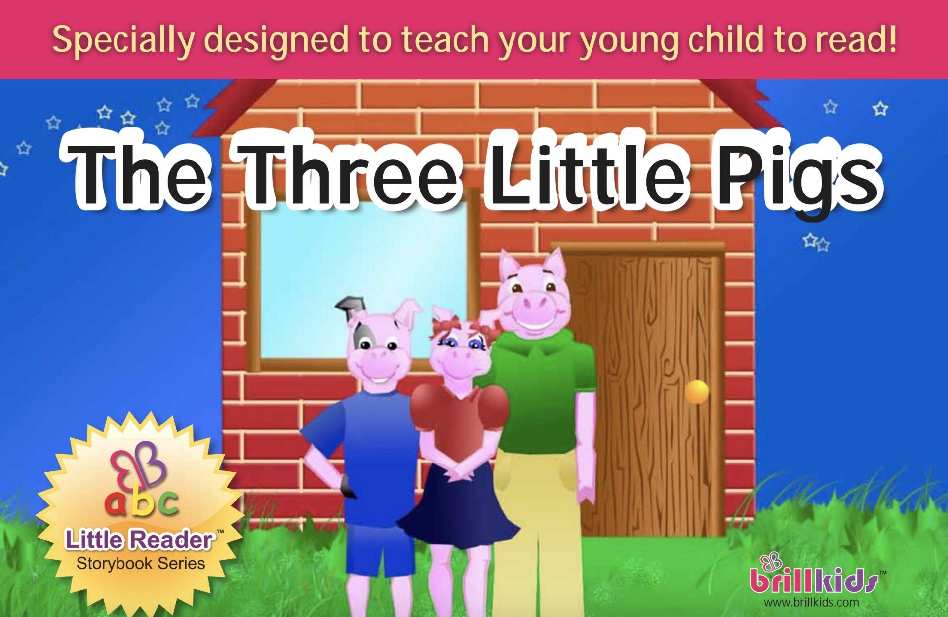 """21. ฟรี! นิทานภาษาอังกฤษ """"ลูกหมู 3 ตัว"""" มาแล้วจ้า"""