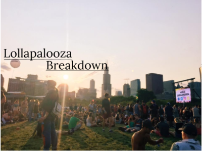 Lollapalooza Lineup Breakdown