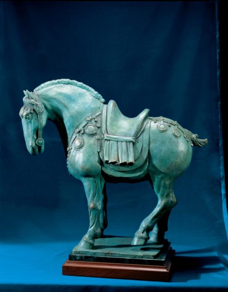 Tang Horse No. 2 (Rosebud)