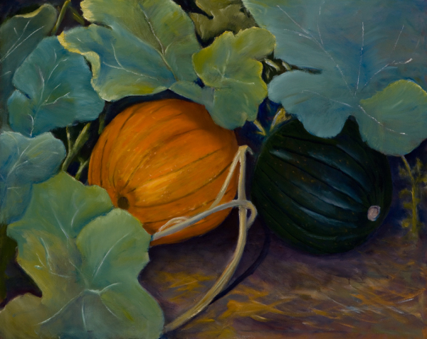 PUMPKINS, oil,