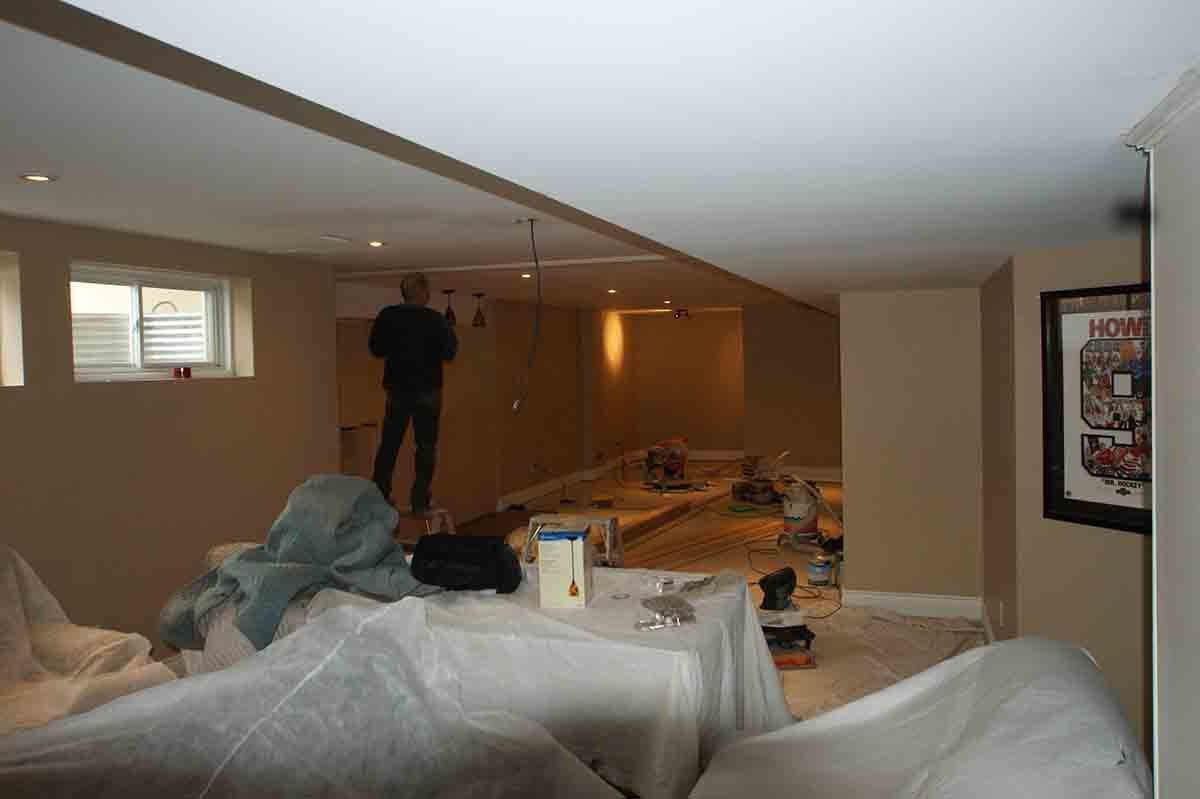 basement renovation how to