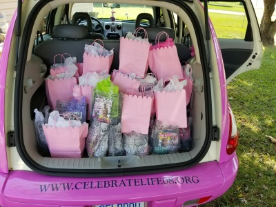 Gift Bags for Chemo Centers