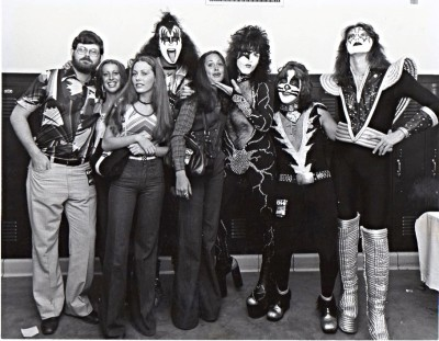 With KISS at Freedom Hall in Louisville