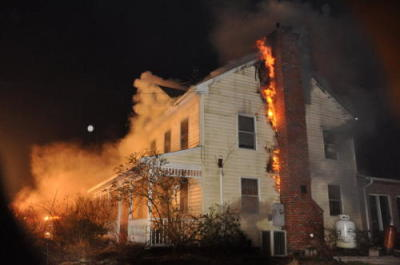 Stubborn Chimney Fire Displaces Brick N.J. Family