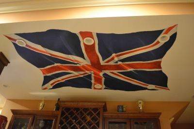 3D painted flag