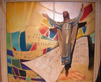 Mural in a church