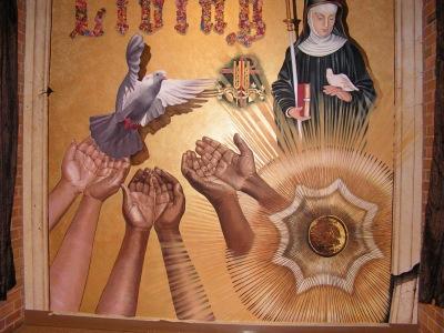 Mural in a church