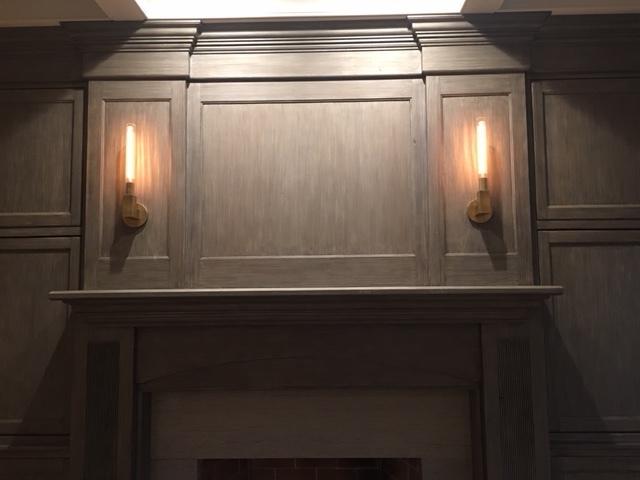 refinished mahogany furniture