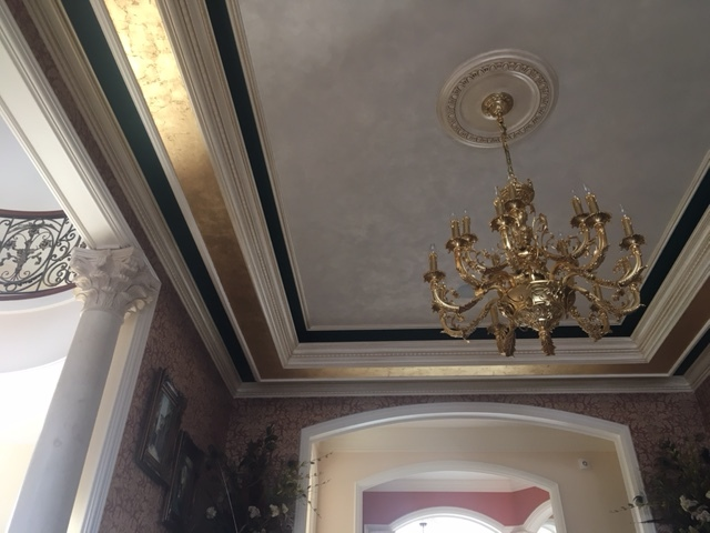 elegant diningroom ceiling