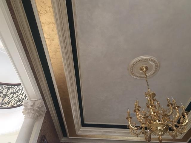 elegant dyning room ceiling