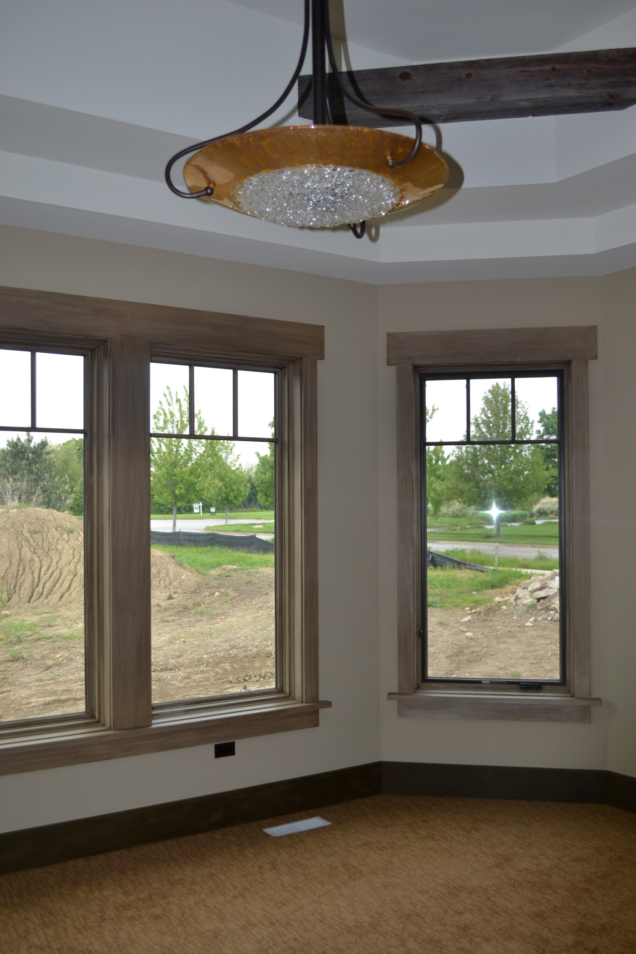 refinished window trims