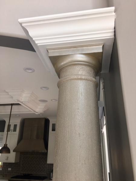 columns finish
