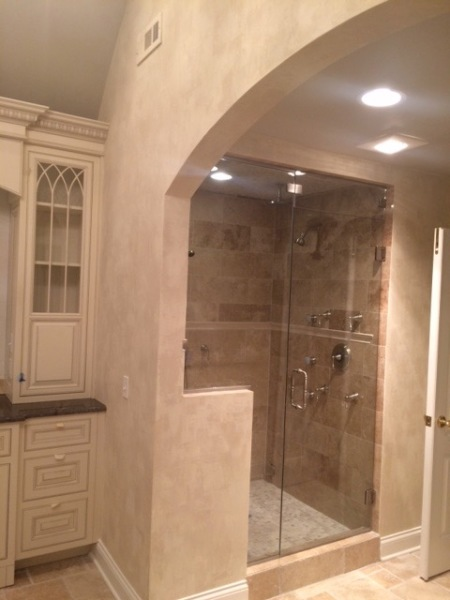 master bathroom finish