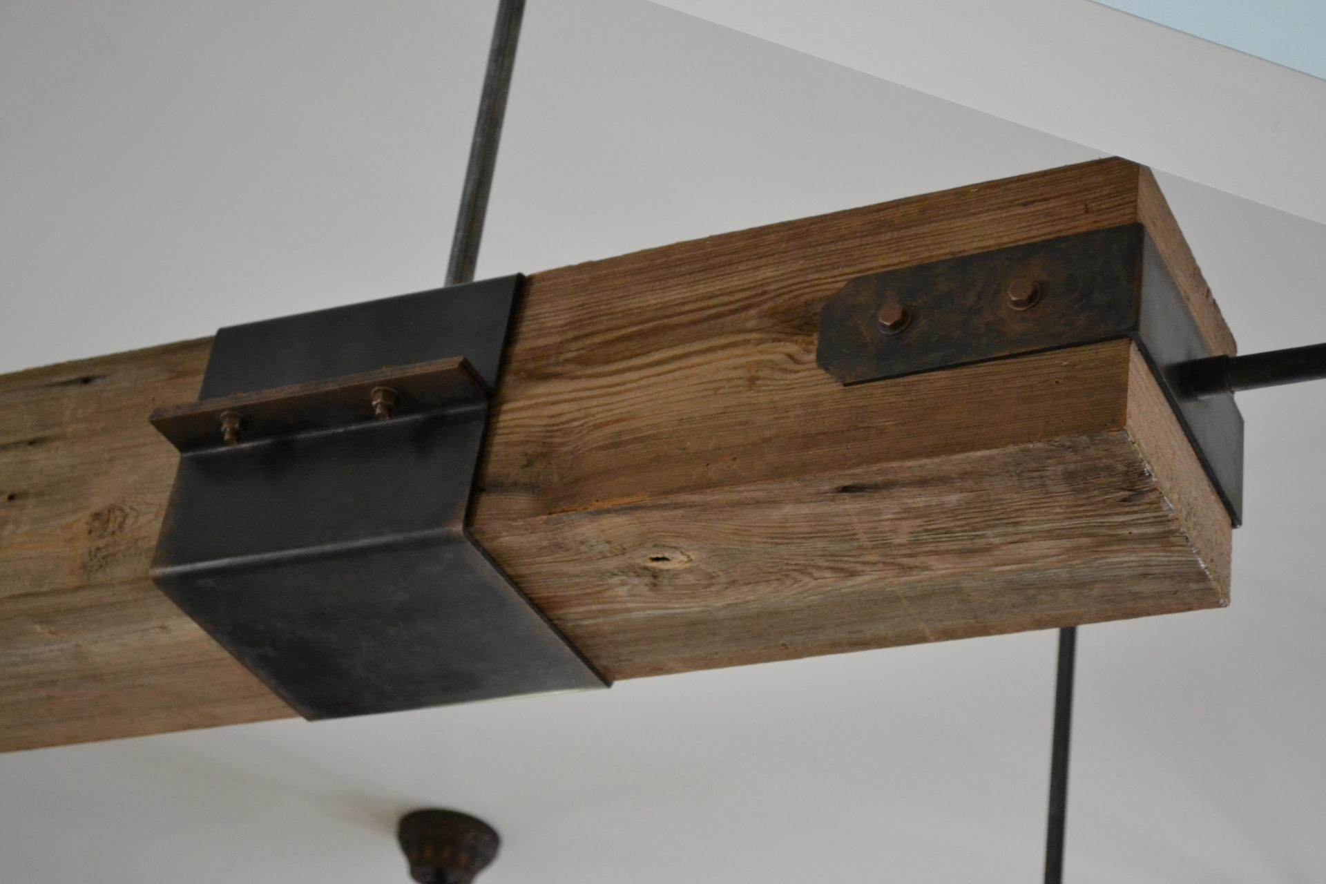 rusting the beams