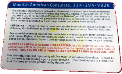 Moorish Consuls