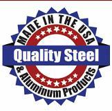 Logo for Quality Steel and Aluminum
