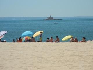 Strandtag in Santo-Amaro de Oeiras