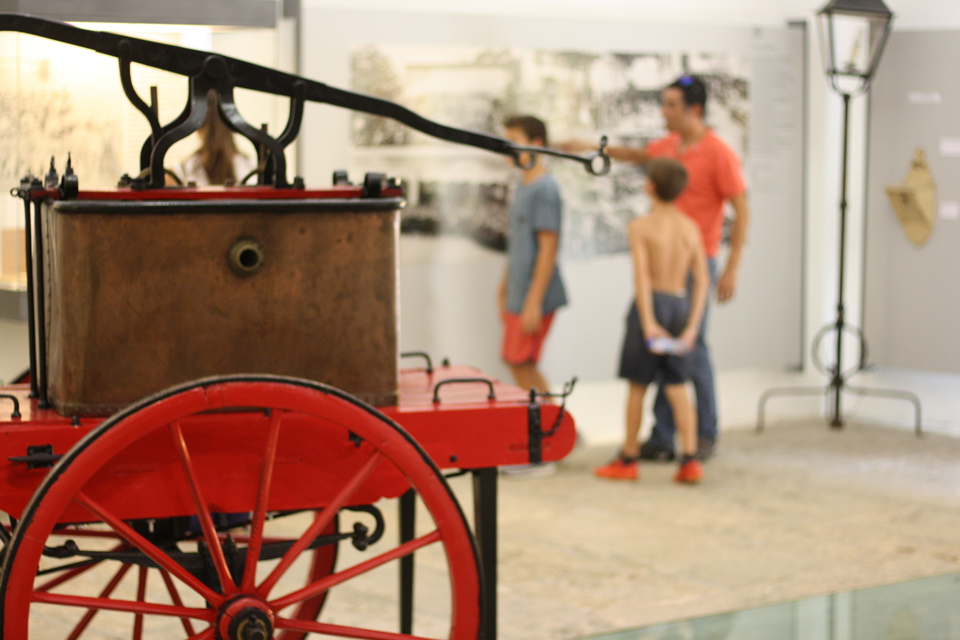 Das erste Feuerwehrauto
