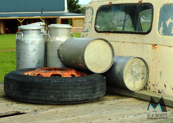 Vintage Milk Truck