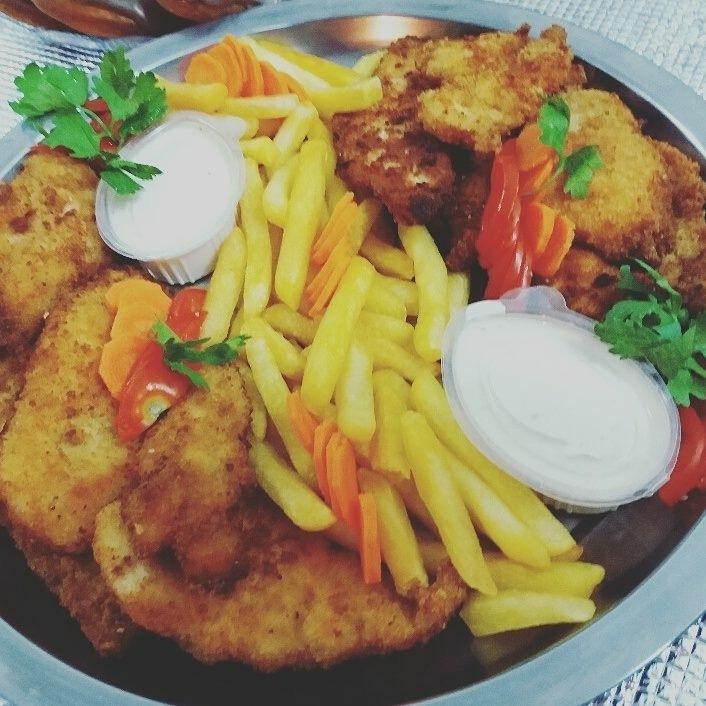 (دجاج ستيك(عرايس