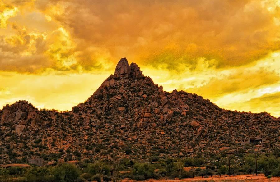 Pinnacle Sunset!