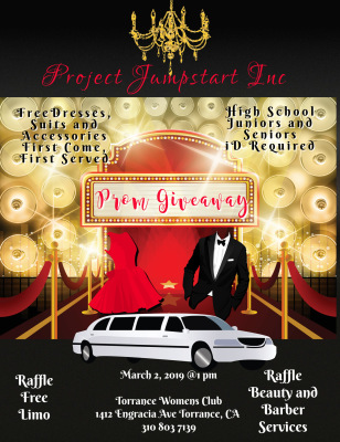 Project Jumpstart Inc. His & Her Prom  Giveaway