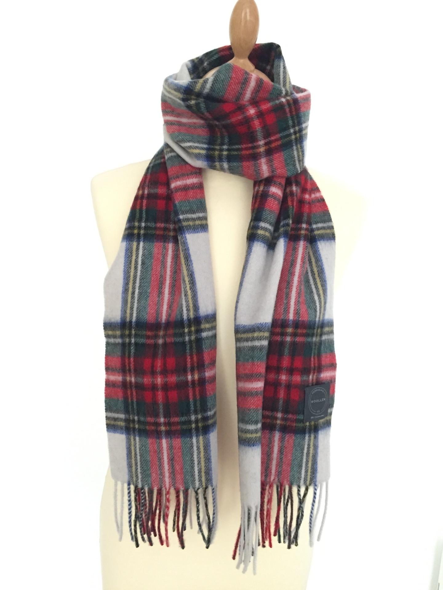 Dress Stewart Tartan Lambswool scarf