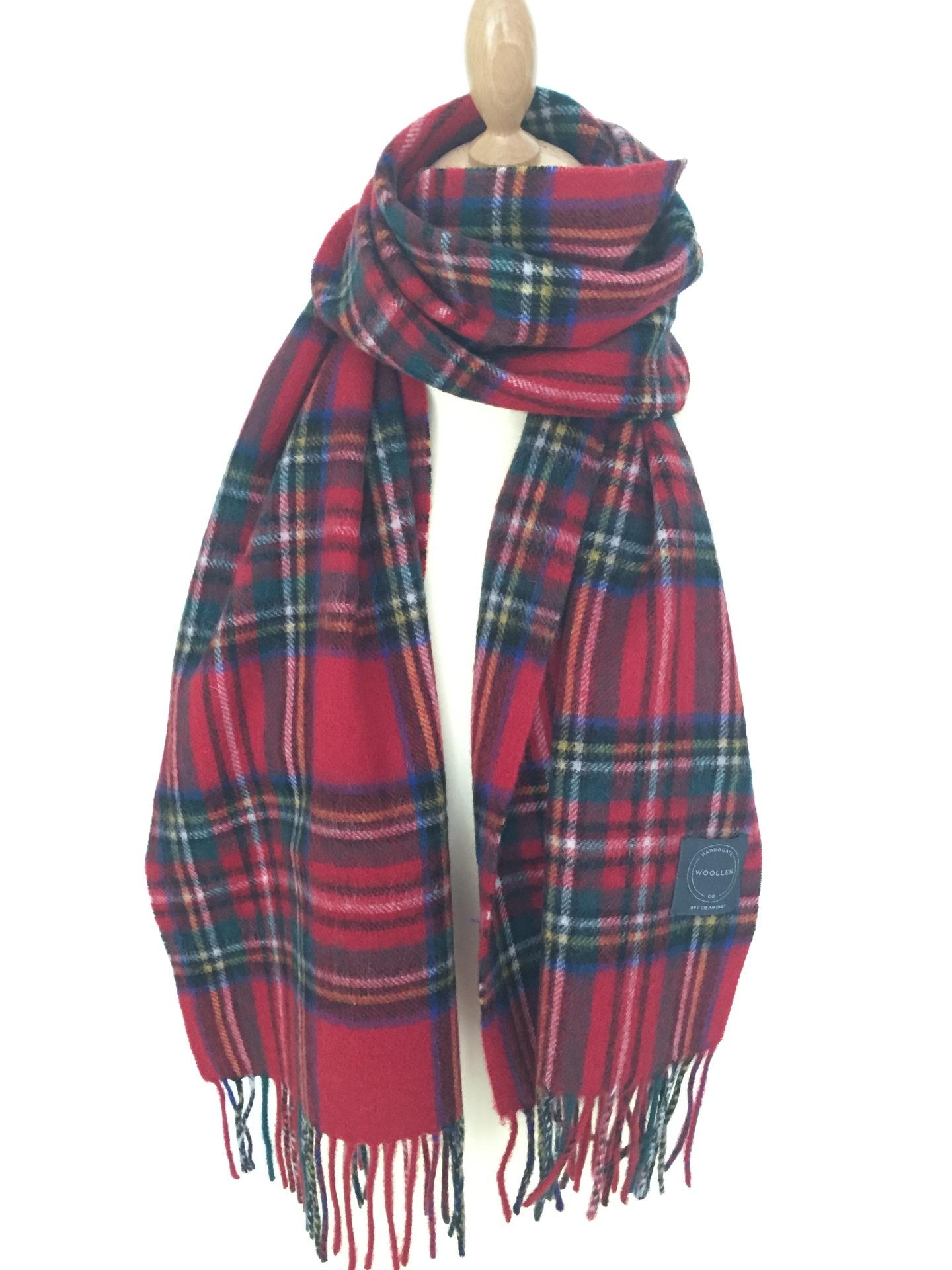 Stewart Tartan Lambswool scarf