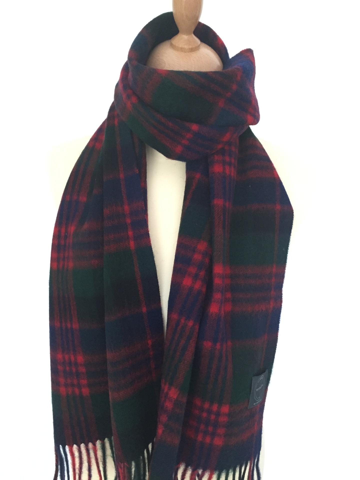 Macdonald Tartan  Lambswool scarf