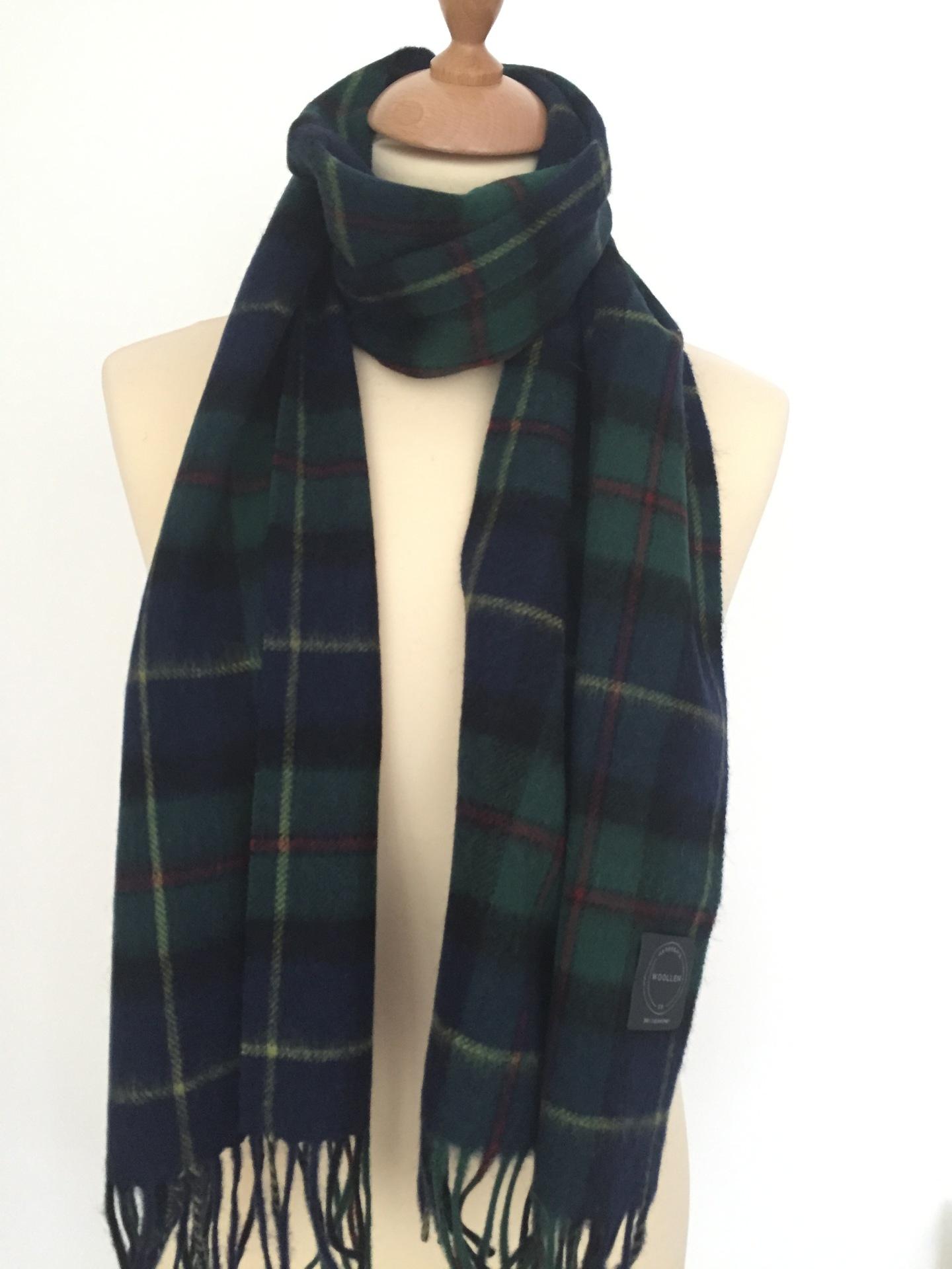 Campbell Tartan Lambswool scarf