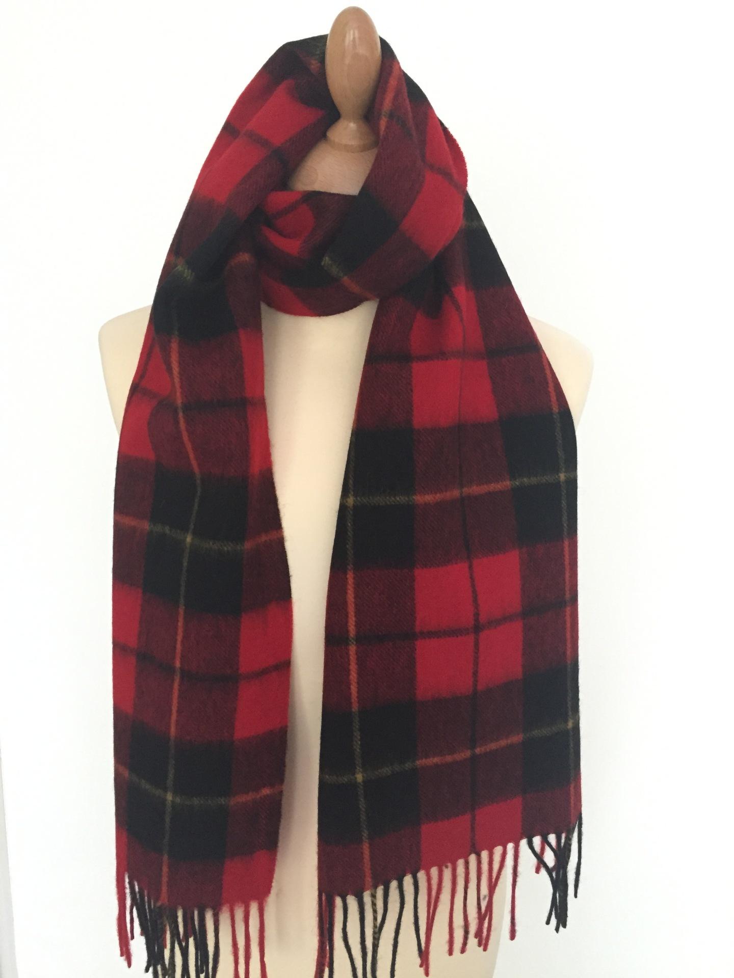 Wallace Tartan Lambswool scarf