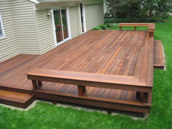 Restored Deck
