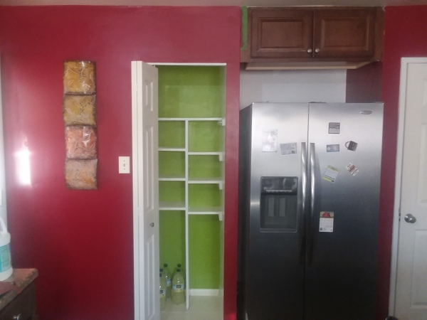 After kitchen painting