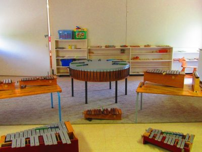 Beehive Montesori Pre-School offers Music Lessons