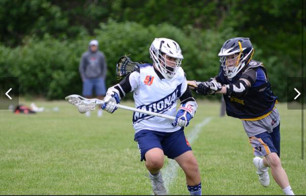 Spike (Michael Evans) Team 91 Lacrosse