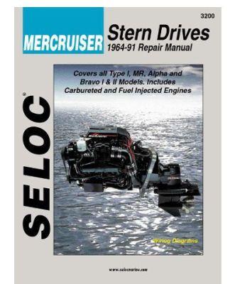 SELOC Stern Drive Repair Manuals