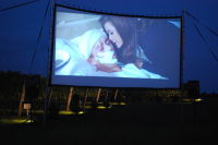 Indoor movie screen rentals company North Hills ny