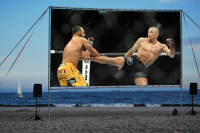 Portable movie screen rentals Calverton ny