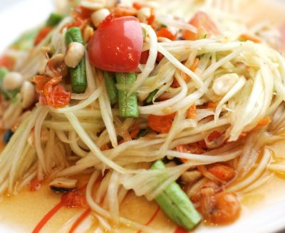 Papaya Salad (Som-Tum)**