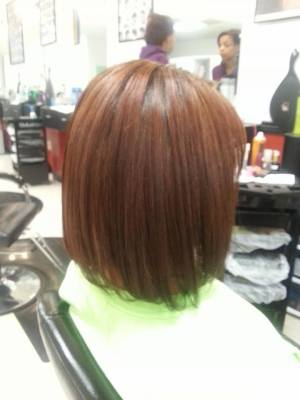Chestnut Brown with Red Undertone
