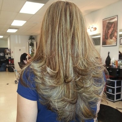 Layered and Blonde
