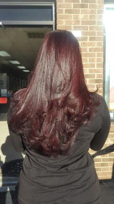 Luscious Red in Layers