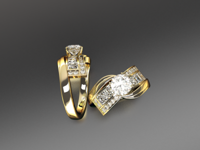 Gold and Diamonds - Beautiful