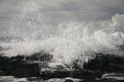Crashing Wave  Hawaii