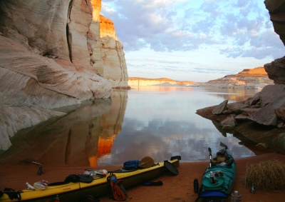 Lake Powell Cove Camping