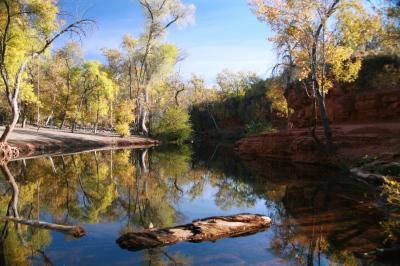 Wet Beaver Creek  Verde Valley Arizona